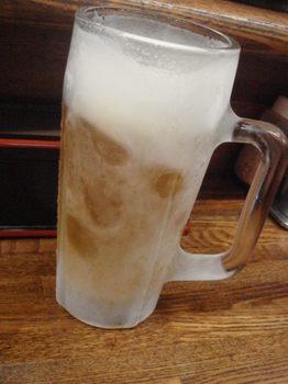 キンキン冷えビール.JPG