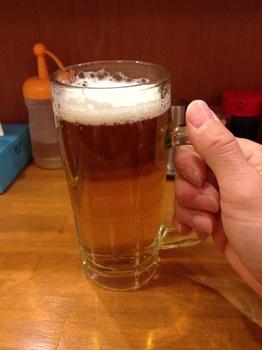 吉壱家 生ビール.jpg