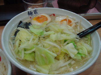 味玉らー麺+野菜.JPG