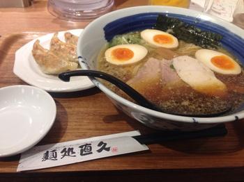 直久 こく旨らーめん(醤油)+餃子.jpg