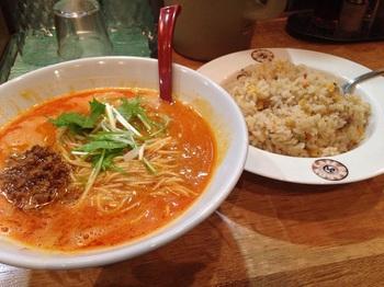 陳麻家 坦坦麺+チャーハン (1).JPG