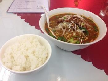 黒胡麻坦々麺とライス.jpg